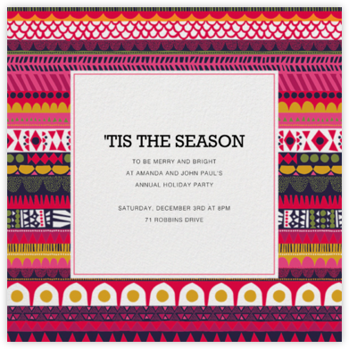 Raanu - Marimekko - Business Party Invitations