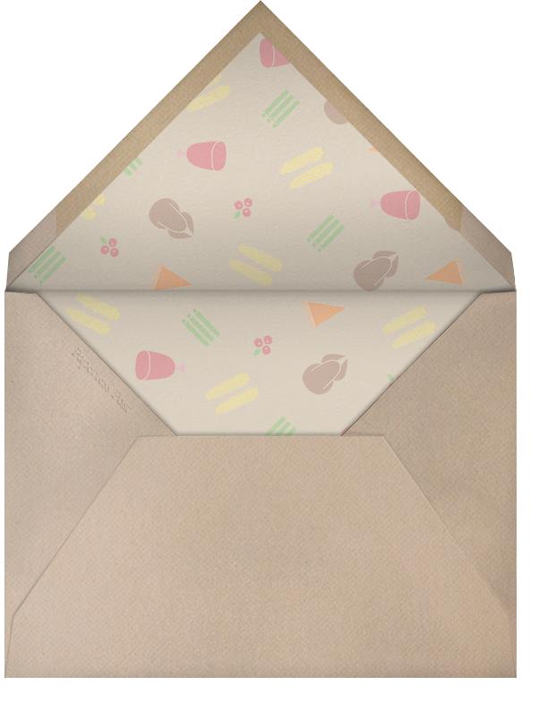 Turkey Ditsy  - Paperless Post - Envelope