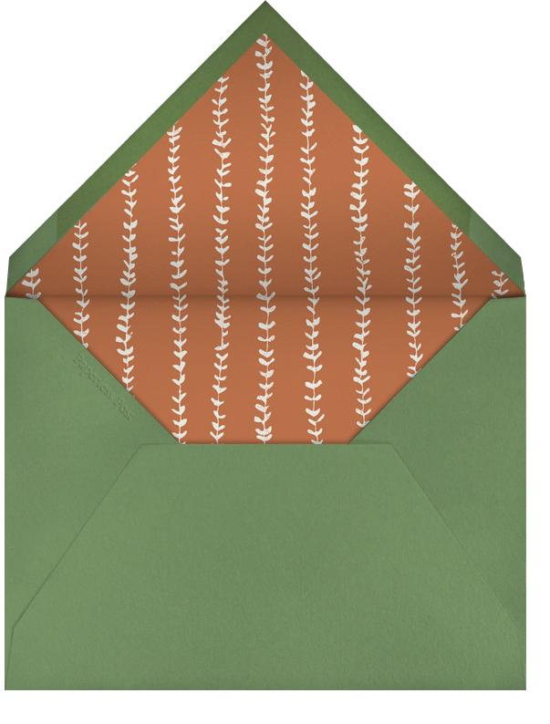 I Statement - Paperless Post - Thanksgiving - envelope back