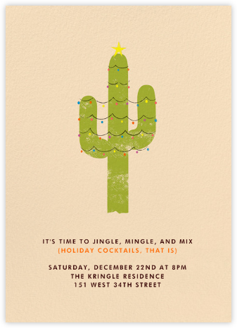 Sante Fe Holiday - Paperless Post - Invitations