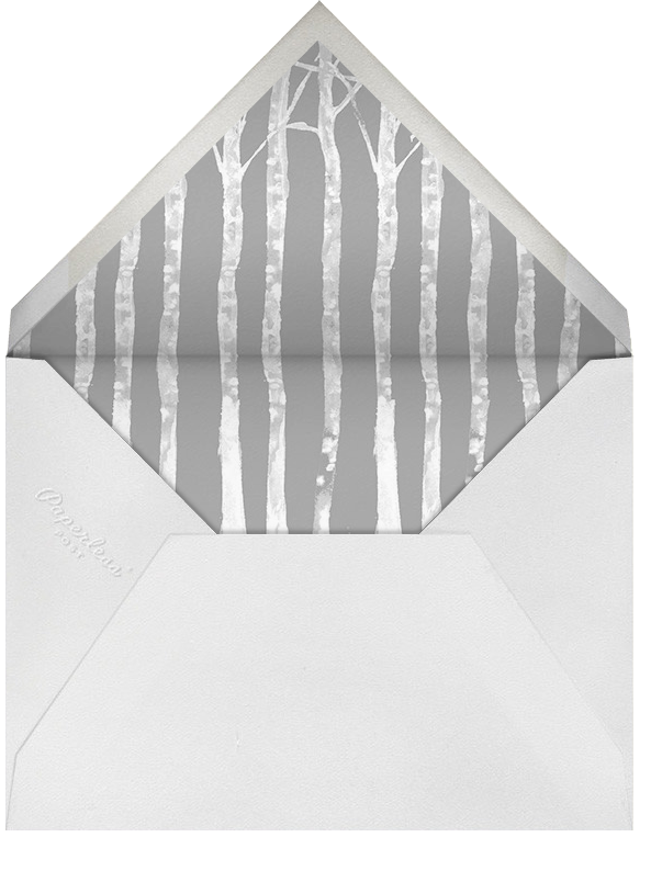 Birchwood (Greeting) - Paperless Post - Holiday cards - envelope back