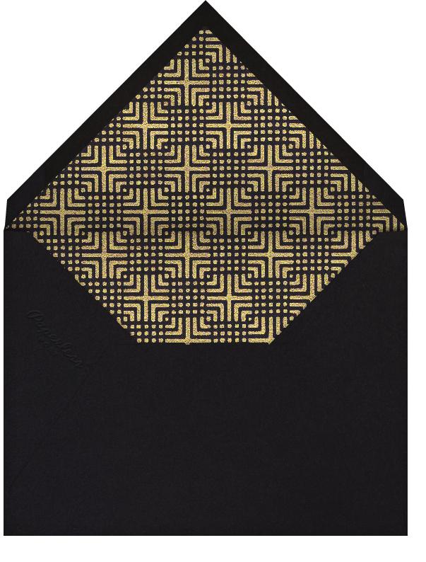 Domino Mask (Black) - Paperless Post - null - envelope back