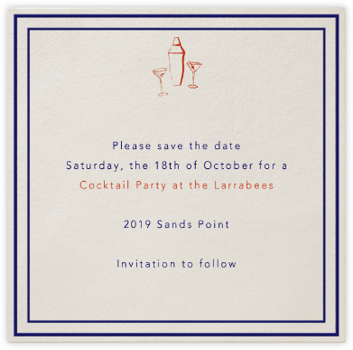 Rue du Dragon - Paperless Post - Online Party Invitations