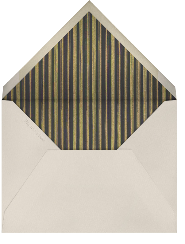 Midwinter Trees - Paperless Post - Charity and fundraiser  - envelope back