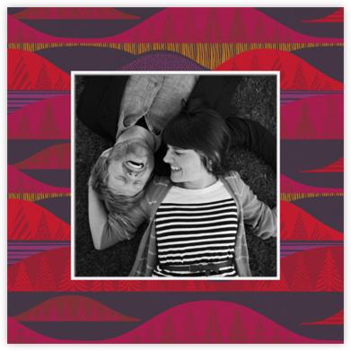 Kultakero (Photo) - Purple - Marimekko - Holiday Cards