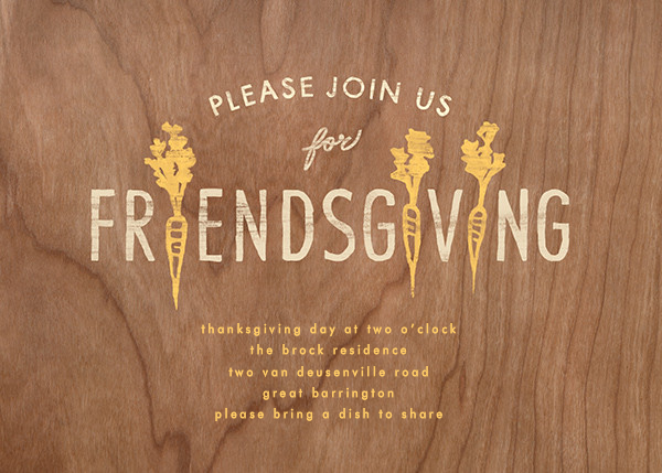 Take Root - Paperless Post - Thanksgiving invitations