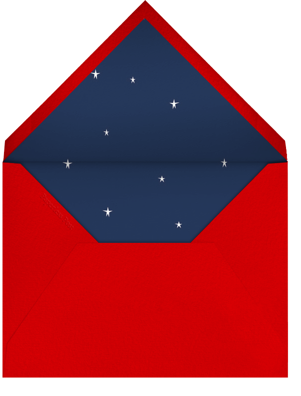 Xmas on the Strip - Paperless Post - Christmas party - envelope back