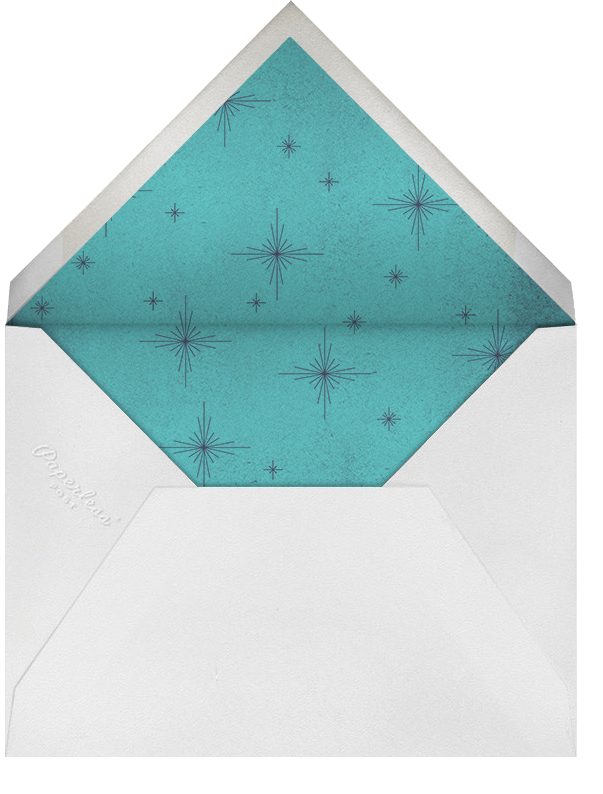 The Great Tree - Paperless Post - Winter entertaining - envelope back