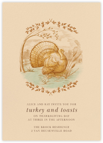 The First Thanksgiving - Paperless Post - Thanksgiving invitations