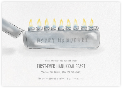 Tzippo - Paperless Post - Hanukkah Invitations
