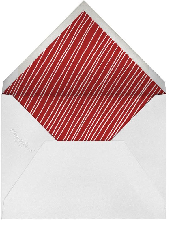 Reindeer Hop - Paperless Post - Holiday party - envelope back