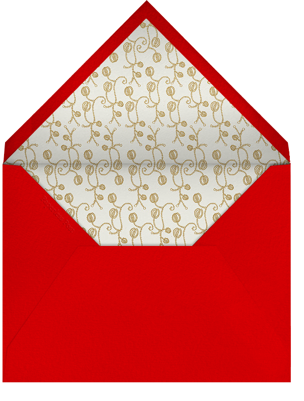 Ptichki - Red - Paperless Post - Holiday cards - envelope back