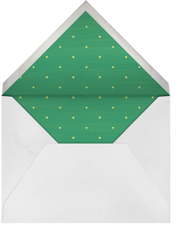 Cookie Decorating 101 - Paperless Post - Christmas party - envelope back