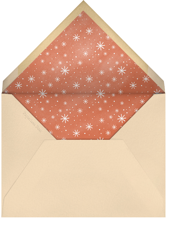 Cocoa Tub - Paperless Post - Cookie swap - envelope back