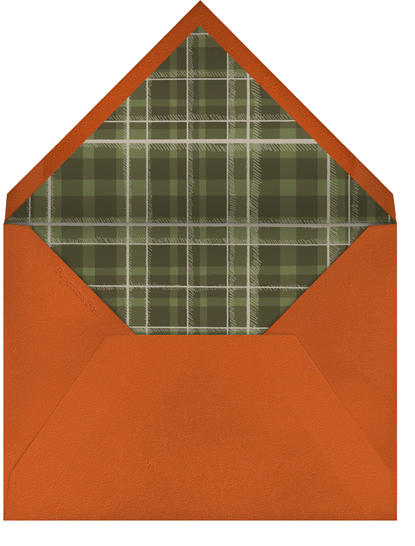 Caesar Dressing - Paperless Post - Thanksgiving - envelope back