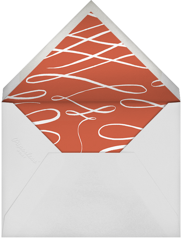 Robin in Blue - Paperless Post - Winter parties - envelope back