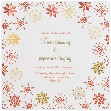 Carolling Season - White - Paperless Post -