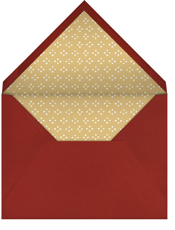 Herald Angel - Fair - Paperless Post - Holiday cards - envelope back
