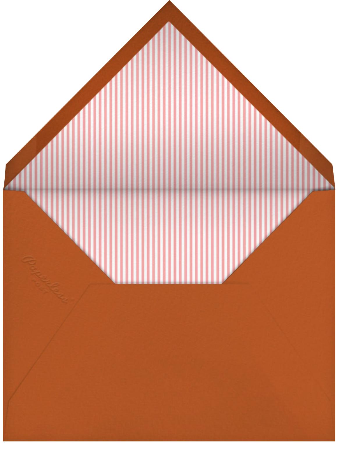 Sea Parade - Little Cube - Baby boy announcements - envelope back