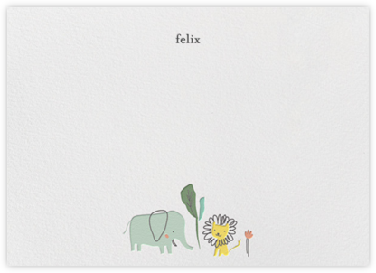Leo & Ellie (Stationery) - Little Cube - Baby and kids' stationery