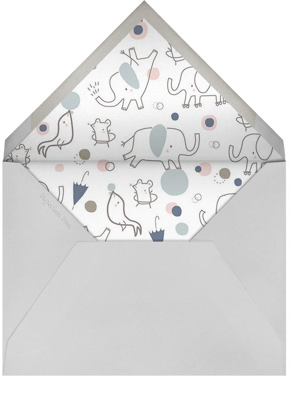 Circus Tricks - Little Cube - Baby shower - envelope back