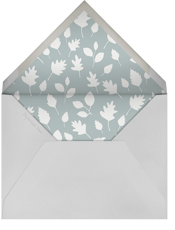 Bandit and Foxy - Little Cube - Kids' birthday - envelope back