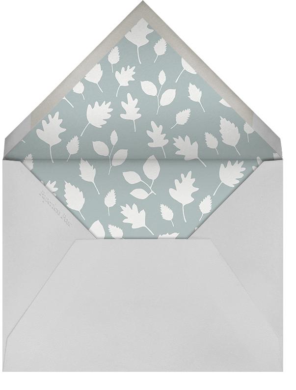 Bandit and Foxy (Stationery) - Little Cube - Kids' stationery - envelope back