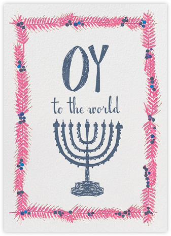 Oy to the World - Pink - Mr. Boddington's Studio -