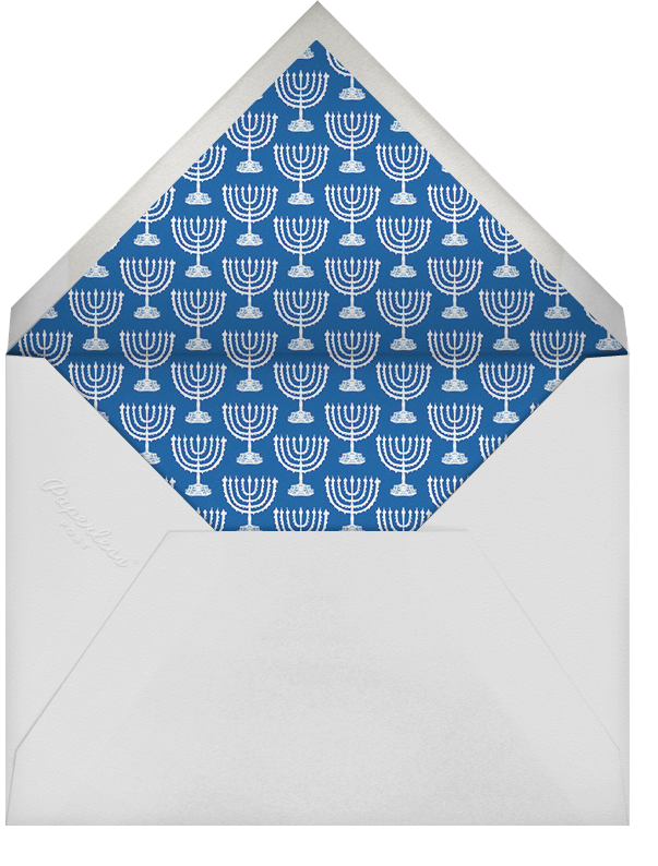 Oy to the World - Pink - Mr. Boddington's Studio - Hanukkah - envelope back