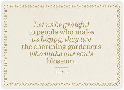 Charming Gardeners - The Indigo Bunting -