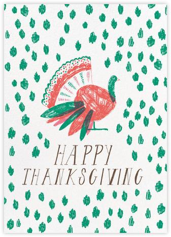What a Beautiful Turkey - Teal - Mr. Boddington's Studio -