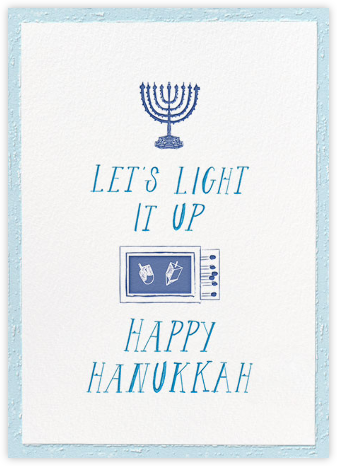 Where Are the Matches - Glacier - Mr. Boddington's Studio - Hanukkah Cards