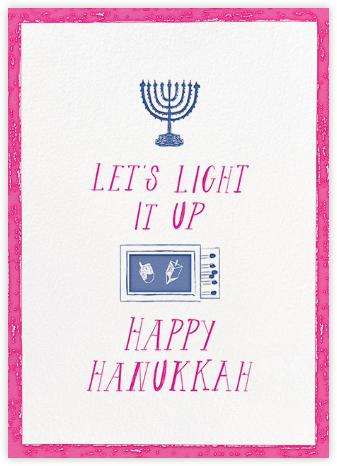 Where Are the Matches - Magenta - Mr. Boddington's Studio - Hanukkah Cards