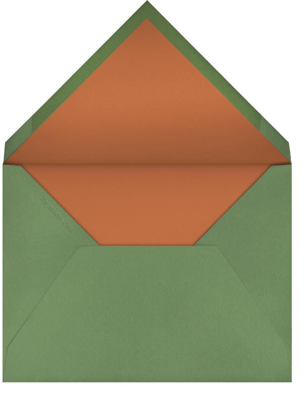 Kitty Carols (Christian Robinson) - Red Cap Cards - Envelope