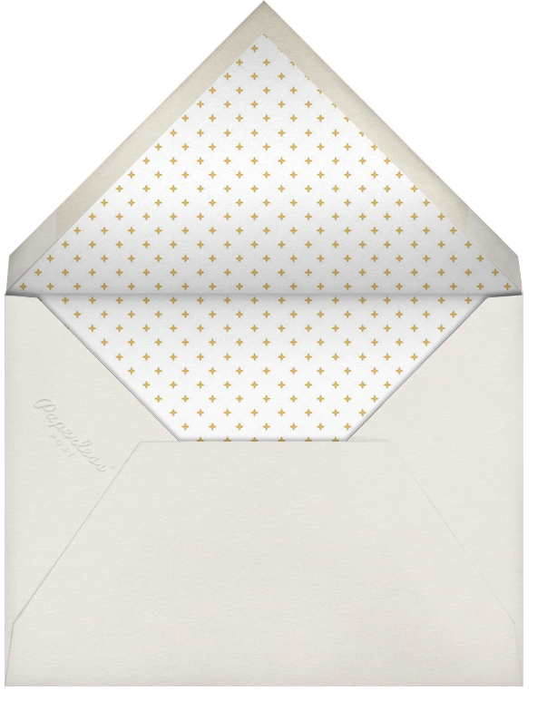 Happy Merry Jolly Stripes - Gold - Paperless Post - null - envelope back