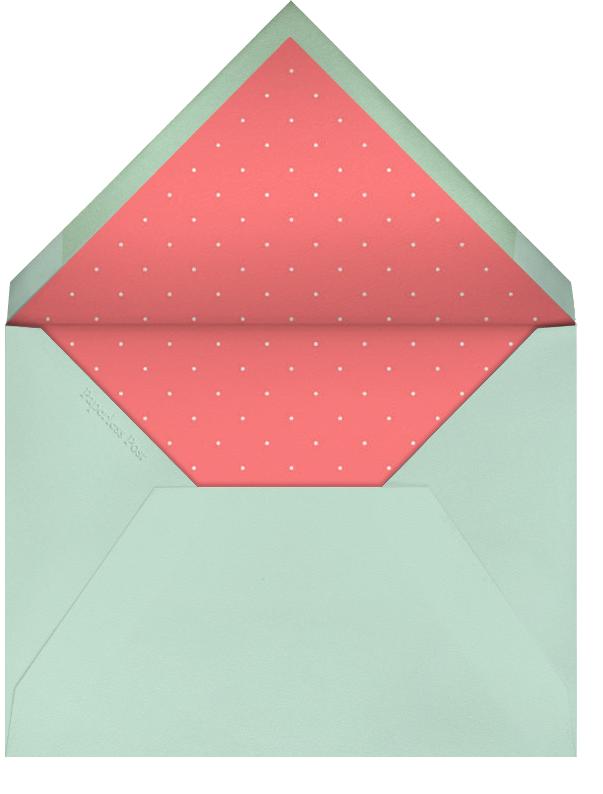 Seasonal Scroll - Coral - Paperless Post - Envelope