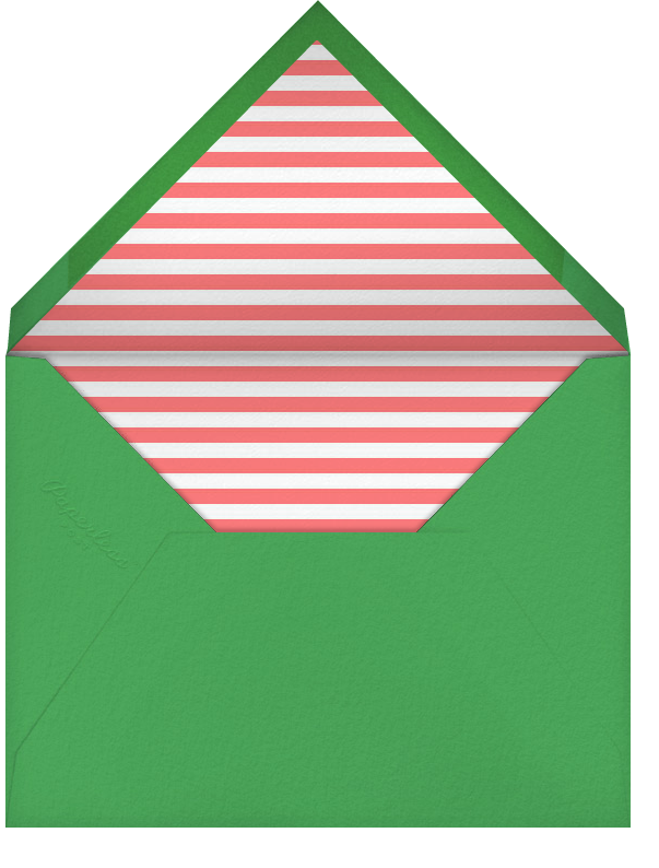The Weather Outside (Multi) - Coral - Paperless Post - Envelope