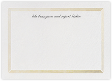 Triple Interior Border (Horizontal) - Gold