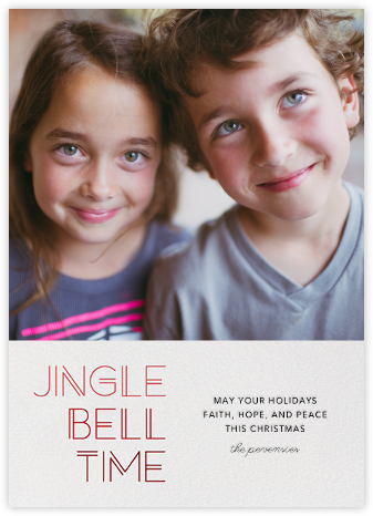 Jingle Bell Time - Paperless Post -