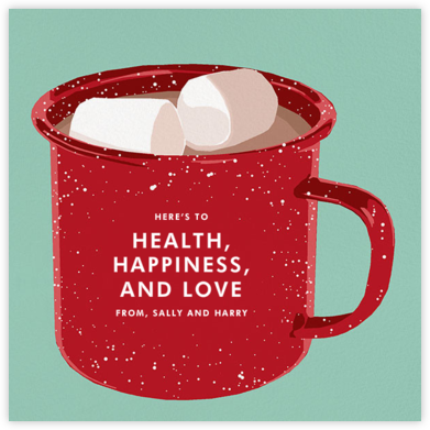 Hot Cocoa - Hannah Berman - Holiday Cards