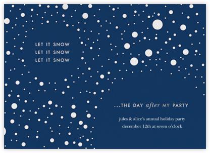 Let it Snow (Invite) - kate spade new york -