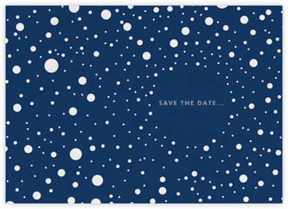 Let It Snow (Save the Date) - kate spade new york -