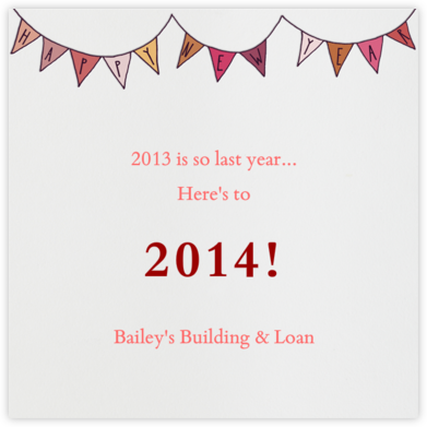 New Year Banner - Paperless Post -