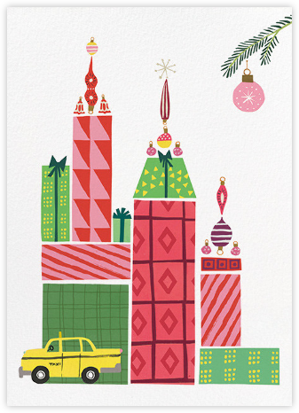 Merry Manhattan - kate spade new york - Holiday Cards