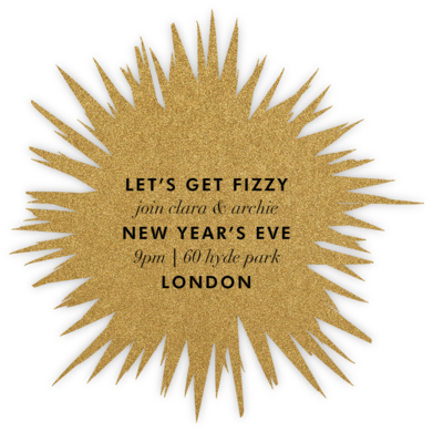 Exuberant  - Kelly Wearstler - New Year's Eve Invitations