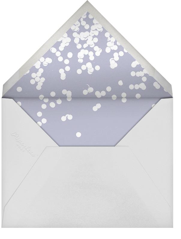 Exuberant  - Kelly Wearstler - New Year's Eve - envelope back