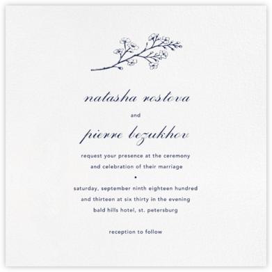 White (Square) - Paperless Post - Online Wedding Invitations