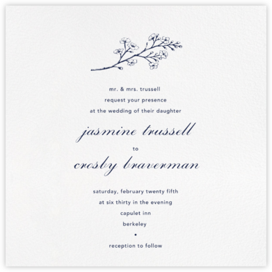 White (Square) - Paperless Post - Wedding invitations