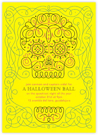 I See Spirits - Paperless Post - Halloween invitations