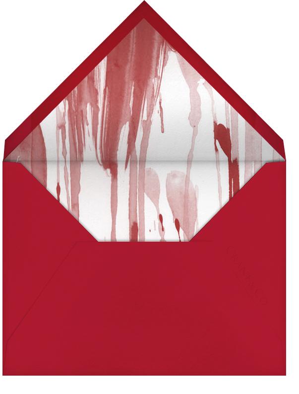 Redrum - Paperless Post - Halloween - envelope back